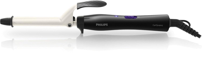 Philips HP8602/00 - Rizador CurlCeramic de 190º con cilindro cerámico de 16mm con punta fría: Amazon.es: Salud y cuidado personal