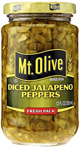 Mt Olive Pickle Co Mt Olive Diced Jalapeno Pepper, 12 oz