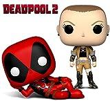 POP Funko Deadpool: Negasonic Teenage Warhead + Deadpool Parody - Stylized Marvel Vinyl Bobble-Head Figure Bundle Set NEW