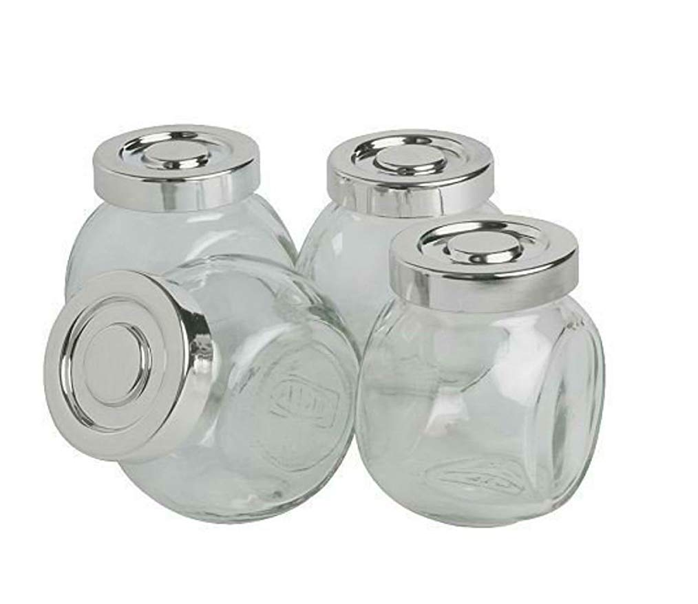 Tarro de cristal Set de 4/8/16/20, para hierbas, especias, caramelos, vidrio, 12 unidades