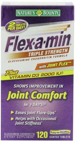 Nature's Bounty Flex-a-Min Triple Strength, 120 tablets by Nature's Bounty