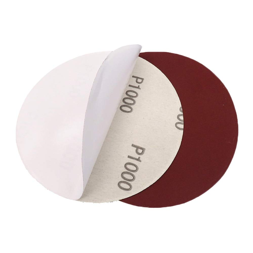 Disc Sandpaper 20ps Sing Sheets Self Adhesive Spaper 5 Inch 125mm Dry Grinding Spaper 60 To 1200 Grits For Sing Polishing