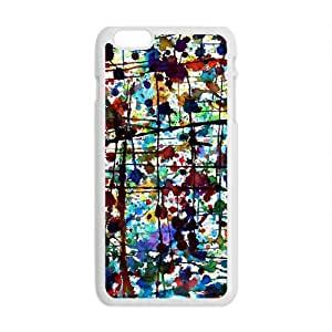 Colorful Giraffes 2 Slim Soft Cover for iPhone 6 Plus Case ( 5.5 inch ) TPU White Cases