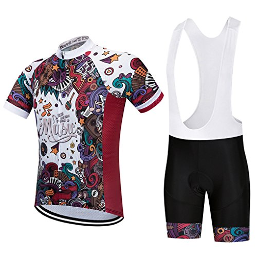 Cycling Jersey Set 2018 Breathable Short Sleeve Bicycle Clothes Man's Bike Shorts