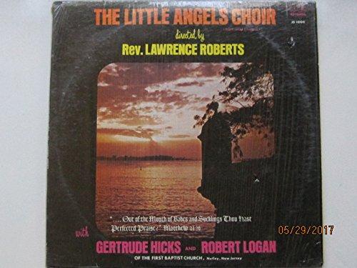 Little Angels Choir with Gertrude Hicks and Robert Logan of The First Baptist Church (Nutley, New Jersey) [VINYL - Nj Mall Jersey