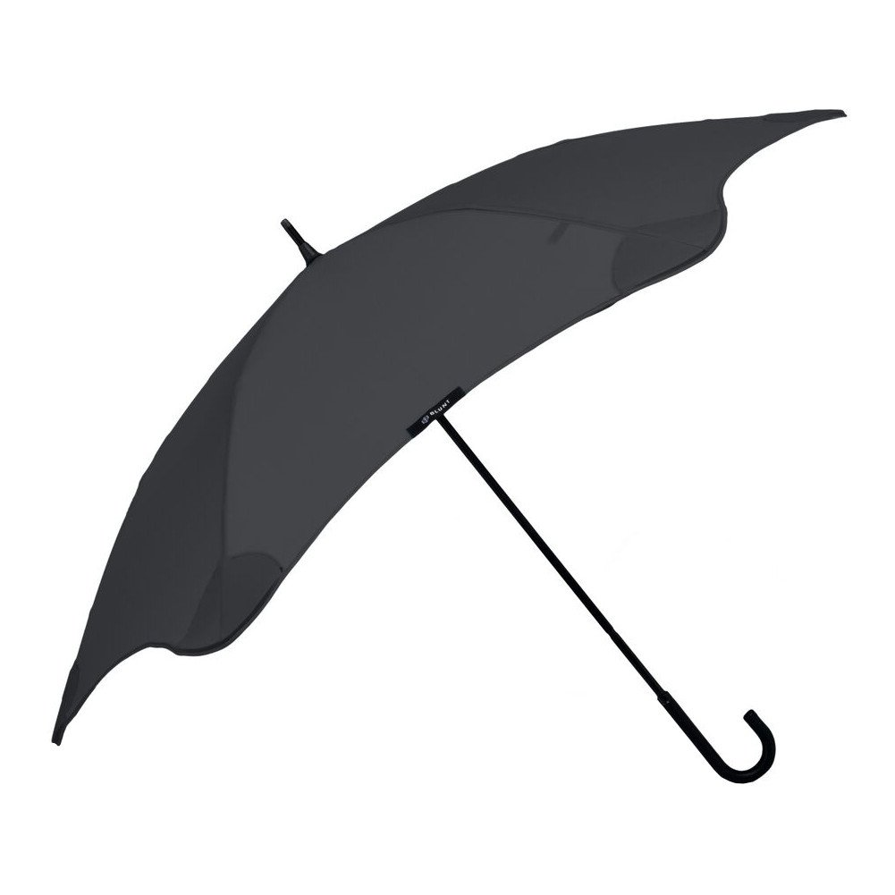 """BLUNT Lite Travel Umbrella with 41"""" Canopy and Wind Resistant Radial Tensioning System - Black"""