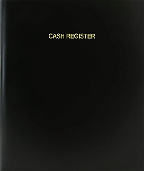 amazon com bookfactory cash register log book journal logbook