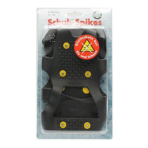 Schuh-Spikes (S-XL Auswahl) für erhöhte Gehsicherheit - Eisspikes Eiskralle Schuhkralle Rutschbremse (xl (44 - 46))