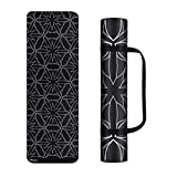 Trideer Yoga Mat, Premium Print 6mm&4mm, Non Slip Exercise & Fitness Mat, Lightweight Anti-Tear All-Purpose Floor Pilates Mat,with Carrying Strap for Yoga Class and Outdoor