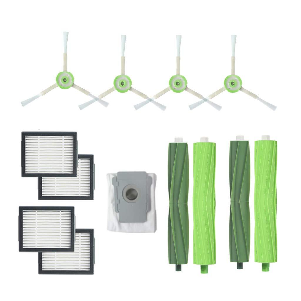 Landfox 2 X Set Bristle Brush.4 X Side Brush.4 X Filters.1 X Vacuum Cleaner Dust Bags