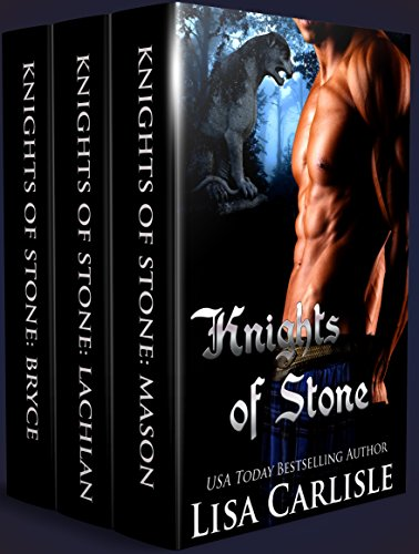 Knights of Stone Boxed Set 1 (Shifters in Kilts): A gargoyle, witch, and wolf shifter romance series (Highland Gargoyles)