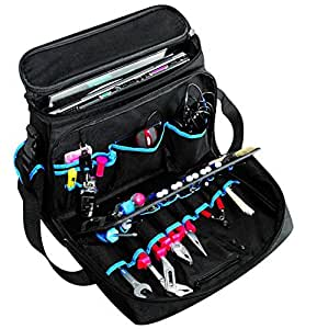 Electrician Technician Soft Sided Tool Bag Organizer