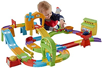 Fisher-Price My First Thomas & Friends Railway Pals Destination Discovery Train Set from Fisher-Price