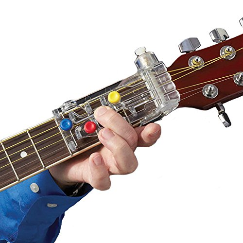 Chord Buddy Guitar Learning System Works On Acoustic And Electric