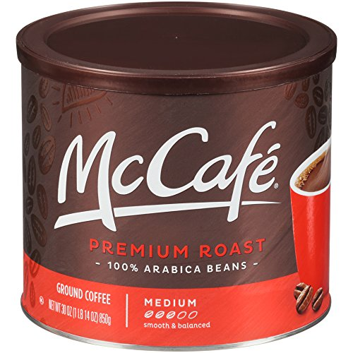 McCafe Premium Roast Ground Coffee (30 oz Tin) (Best Store Brand Coffee)