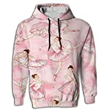 Mens 2017 Cool Ballet Hoodie Design Personalized Sweatshirt Hip Hop Guys Hoodie Sweatshirt