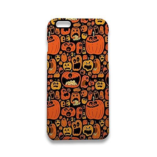 (Protective Shock-Absorption & Skid-Proof iPhone 6S Case, Halloween Pumpkin Fiesta iPhone 6 Case Apple iPhone 6 / 6S 4.7 inch)