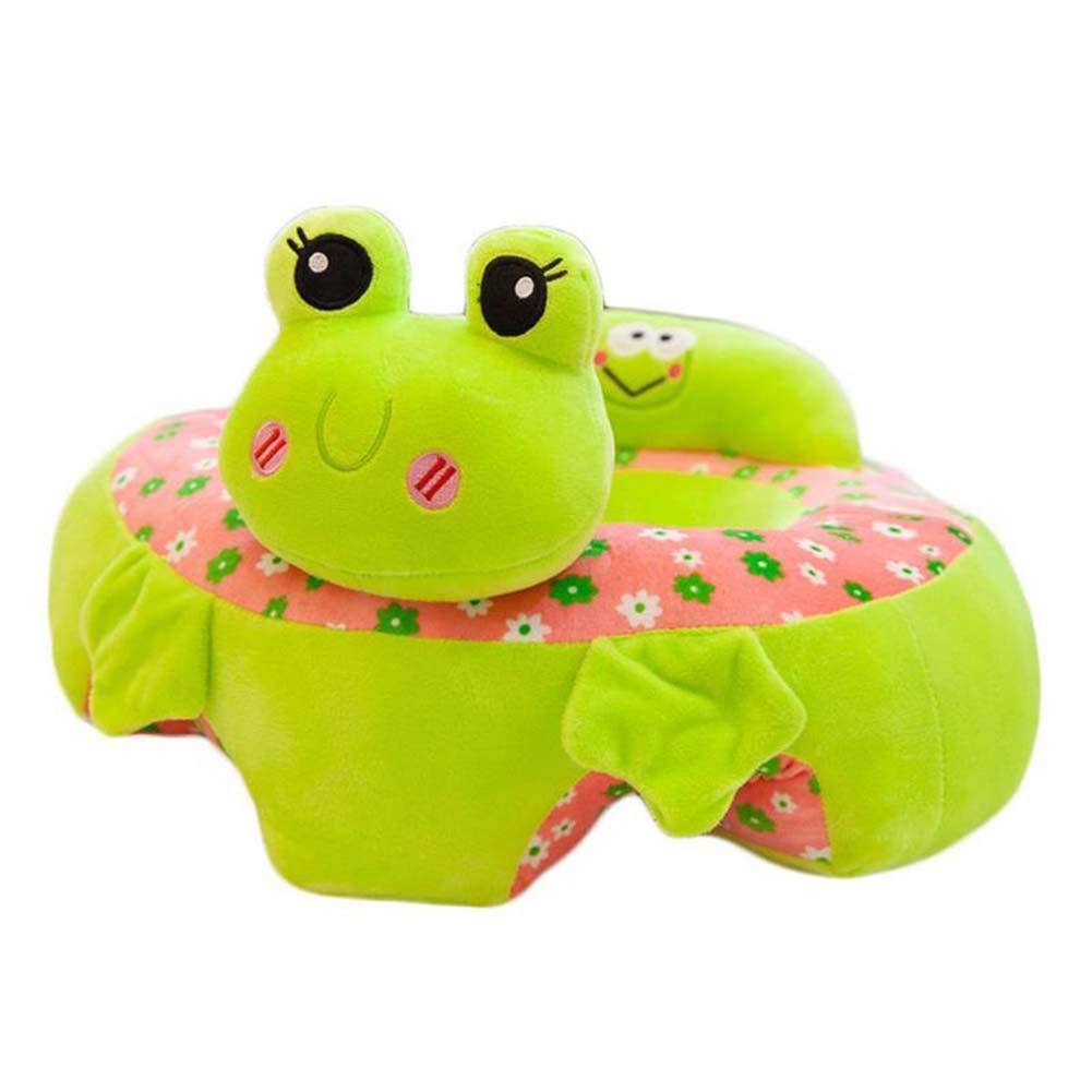 B/éb/é canap/é support enfant si/ège apprentissage assis pour chaise souple coussin alimentation oreillers nouveau design animal peluche adapt/é pour 3-16 mois nourrissons pr/é-maternelle jouets Rose