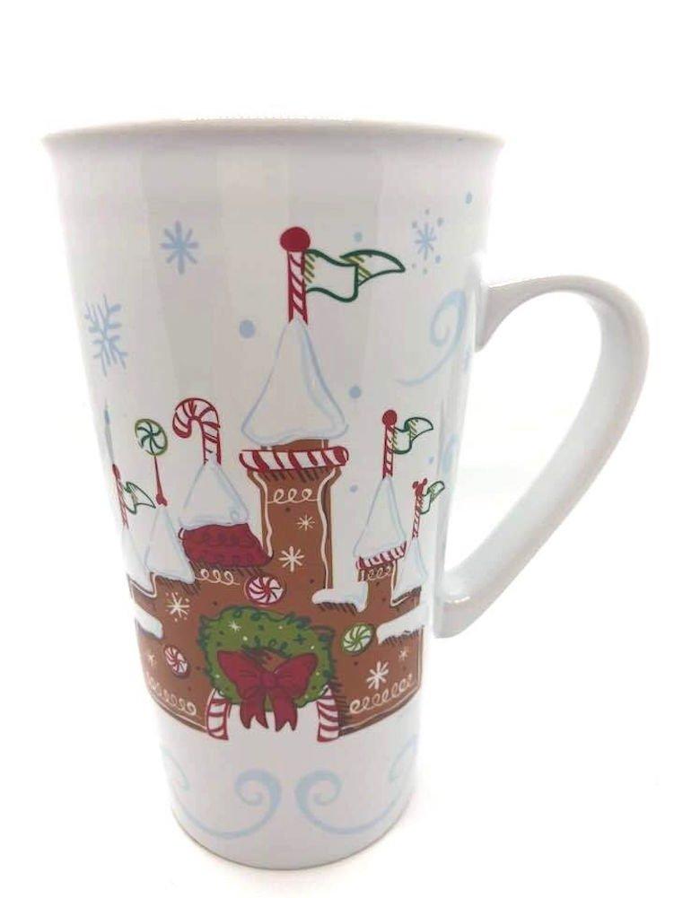 2017 Christmas Holiday Starbucks Disney Gingerbread Mug Tumbler- 14 Oz.