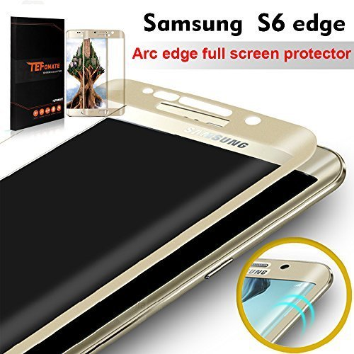 146 opinioni per Galaxy S6 Edge Pellicola Protettiva, TEFOMATE® Pellicola Protettiva Temperato di