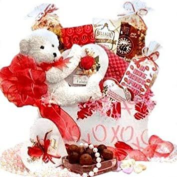 Amazon.com : XOXO Valentines Day Gift Basket for Him or Her ...