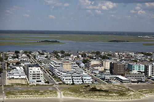 historic pictoric Photograph| Beaches on The New Jersey Shore in Wildwood, New Jersey 3 Fine Art Photo Reproduction 44in x 30in -