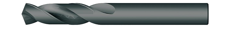135 Degree 13//32 Cutting Diameter Precision Light 311SM13//32 HSS Screw Machine Drill Bits Black Pack of 6