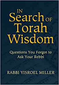 In Search of Torah Wisdom - Questions You Forgot to Ask Your