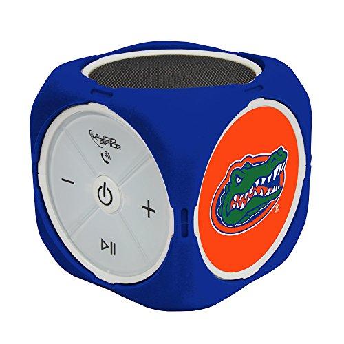 NCAA Florida Gators MX-300 Cubio Bluetooth Speaker, Black, One Size by AudioSpice