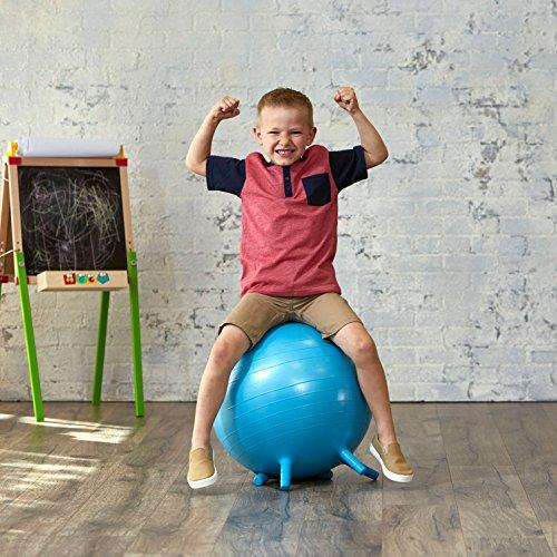 Gaiam Kids Stay-N-Play Children's Balance Ball - Flexible ...