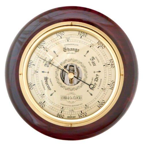 Mahogany Barometer (COBB & Co. Round Barometer (Mahogany))