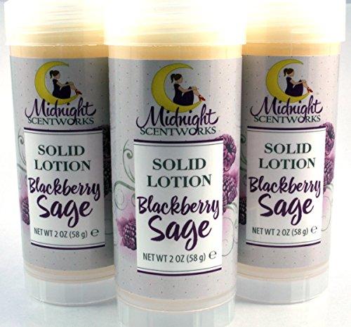 Blackberry Sage Solid Lotion - - Sage Silky