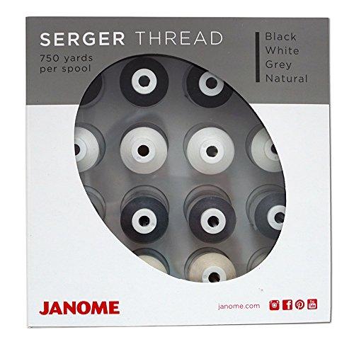 (Janome Serger Starter Thread Kit)