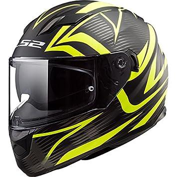 LS2 FF320 Corriente EVO Dar UN BANDAZO Doble Visera Casco de Moto de Cara Completa Cascos