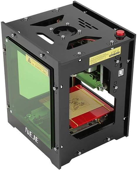 Amazon.com: NEJE DK-BL Impresora de grabado láser de 1500 mW ...