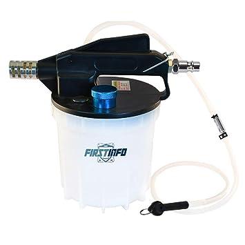Ajuste Herramientas 2 litros neumático al vacío bomba de purgador de líquido de frenos Extractor: Amazon.es: Coche y moto