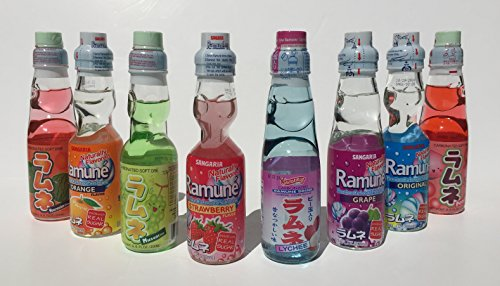 Power for Apple Ramune gift set 8 variety pack (Original Version) ()