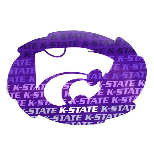 Bama NCAA Officially Licensed Kansas State Wildcats Repeating Design Swirl ()