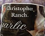 2 Pound Fresh Garlic USA California Heirloom Monviso Gilroy Finest (2 Pounds Total)