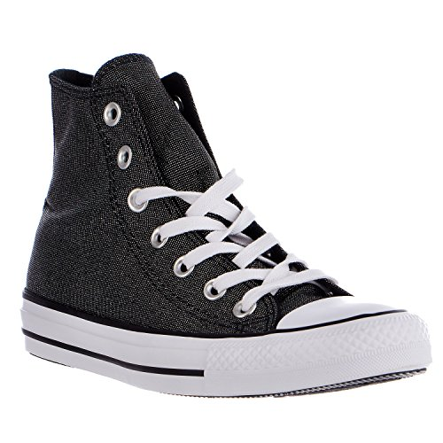 Converse Womens Chuck Taylor All Star Hi Top Sneaker Fashion Scarpa Bianco / Nero / Bianco