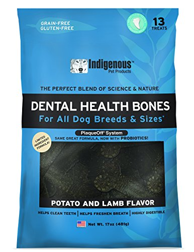 Indigenous Dental Health Bones, 17 Oz., Potato And Lamb Flavor ()