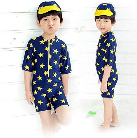 【姫洋服】 子供 男の子 キッズ 水着 スイムウエア 分体式 半袖 可愛い 通気性 高品质 ソフト 柔らかい 105-115cm