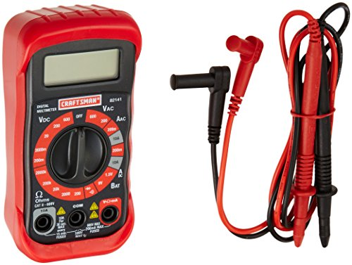 Craftsman 34-82141 Digital Multimeter with 8 Functions and 20 Ranges (Multimeters Digital)