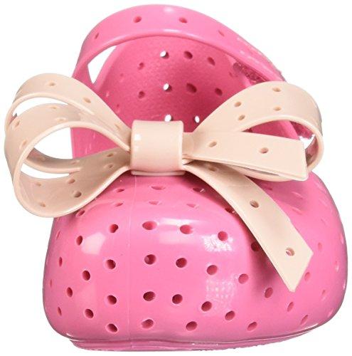 Pictures of Mini Melissa Girls' Mini Furadinha XI Ballet Flat, Pink, 10 Medium US Toddler 6