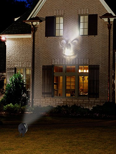 Halloween Outdoor Animated Skulls Projection (Animated Halloween Decor)