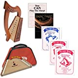 Homeschool Music Melody Harp & Lily Harp Bundle w/Mega Book Pack #1