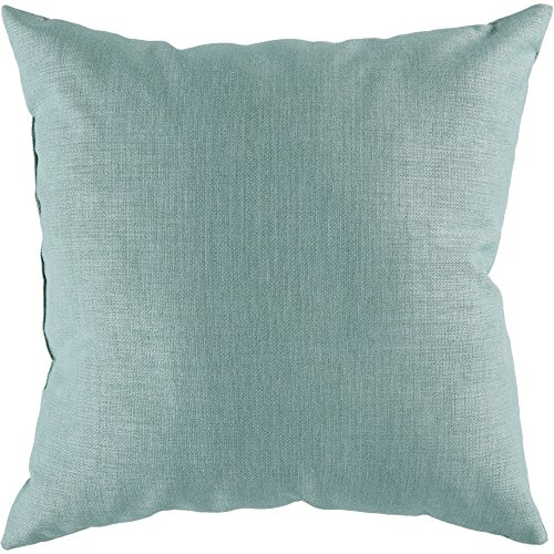 Surya Zz404 2222 Indoor Outdoor Pillow 22 Inch By 22 Inch Teal