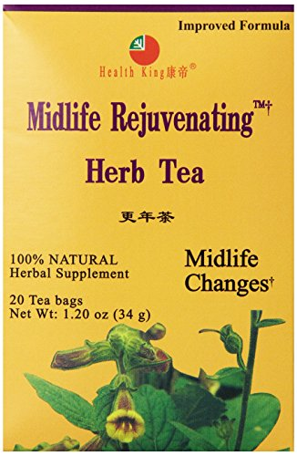 Tea Midlife Rejuvenating - Health King Midlife Rejuvenating Herb Tea, Teabags, 20 Count Box