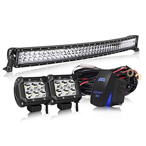 Curved LED Light Bar KEENAXIS DOT Approved 50