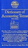 Dictionary of Accounting Terms, Joel G. Siegel  CPA and Jae K. Shim, 0764143107